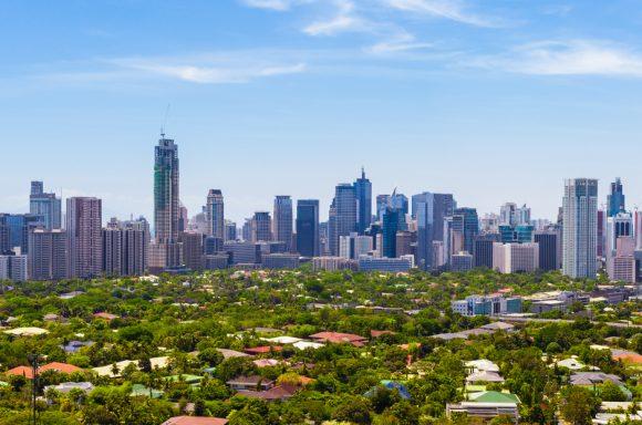 Skyline of Manila, Philippines