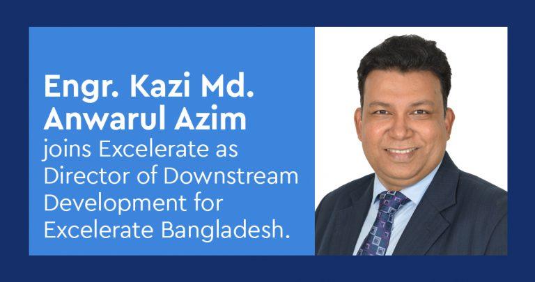 Kazi Azim director of downstream development