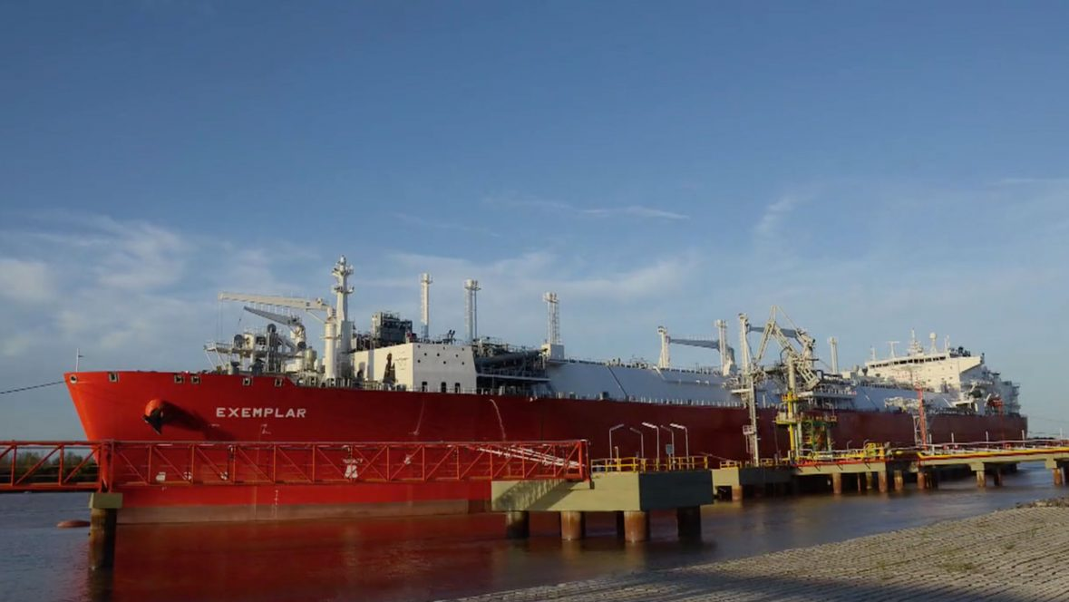 Clean energy LNG receiving facility