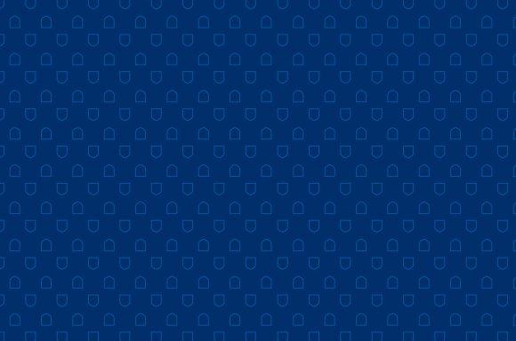 Shield pattern on dark blue background