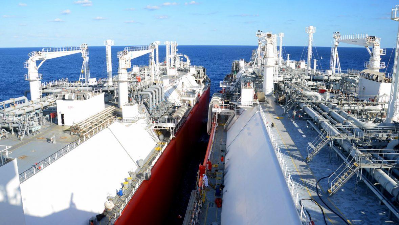 Hadera Deepwater LNG performing STS