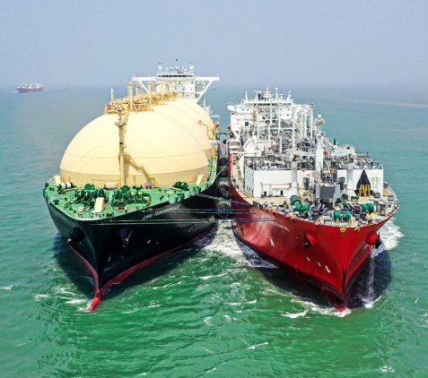 Bangladesh's First LNG Terminal Image