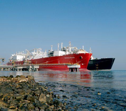 Abu Dhabi's First LNG Import Terminal Image