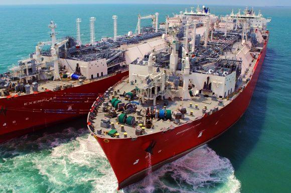 Summit LNG two FSRUs offshore Bangladesh