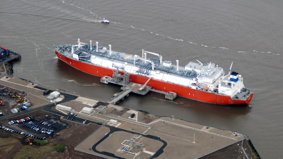 Teesside GasPort SRU delivering clean, reliable LNG to UK