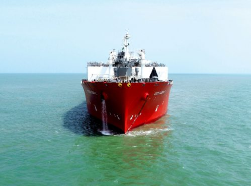 Clean energy LNG import terminal