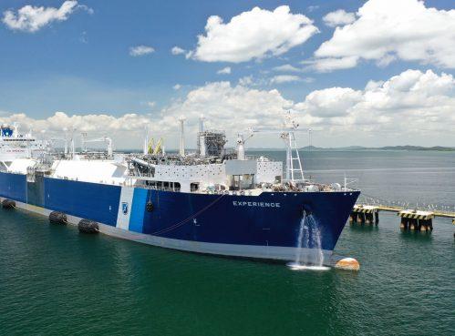 Natural gas from an FSRU