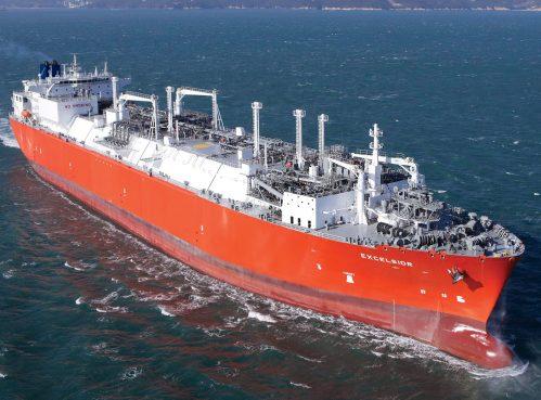 Clean energy LNG ship