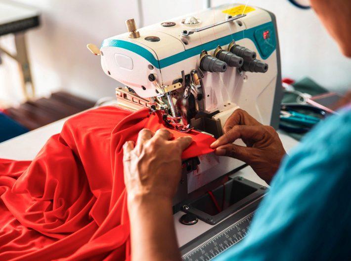 LNG providing power for garmet industry worker