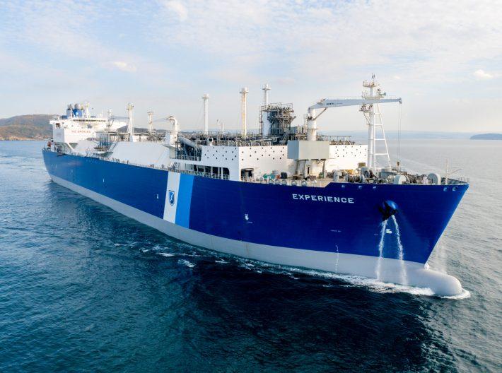 LNG terminal ship