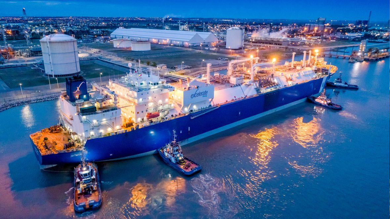 FSRU Exemplar at Bahia Blanca Gasport