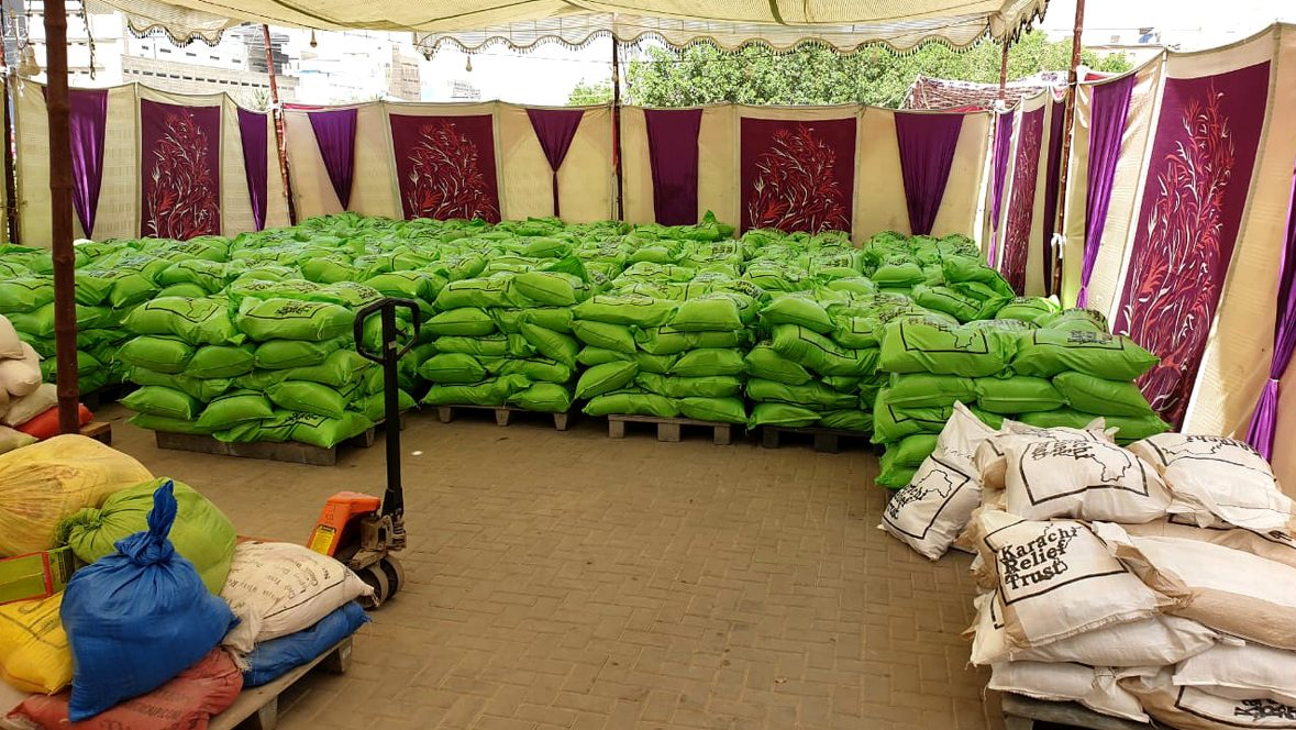 COVID-19 food relief packages in Pakistan